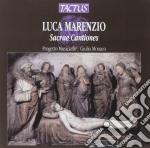 Progetto Musica - Sacrae Cantiones cd musicale di Luca Marenzio