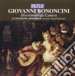 La Stagione Armonica - Divertimenti Da Camera cd musicale di Giovanni Bononcini