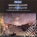 Galuppi - Sette Concerti A Quattro - L'Offerta Musicale cd musicale di Baldassarre Galuppi