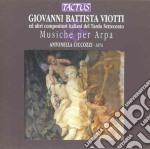 Ciccozzi Antonella - Musiche Per Arpa cd musicale di Viotti giovanni batti