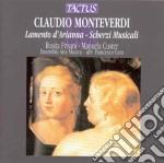 Ensemble Arte-musica - Lamento D'arianna cd musicale di MONTEVERDI CLAUDIO