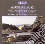 Ut Musica Poesis Ensemble - I Libro De' Madrigali 4 Voci cd musicale di Rossi Salomone
