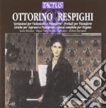 Valli Mauro, Macinanti Andrea - Variazioni Per Violoncello cd musicale di Ottorino Respighi