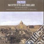 Mottetti giubilari cd musicale di Artisti Vari