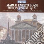 Coro Euridice, Macinanti Andrea - Messa Pro Defunctis cd musicale di Bossi marco enrico