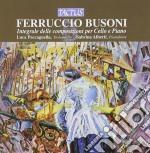 Paccagnella L. / Alberti S. - Integrale Per Cello E Piano cd musicale di Busoni