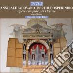 Musiche per organo cd musicale di A. Padovano
