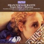 Acciai Giovanni - Vespro Breve - Miserere cd musicale di Francesco Durante