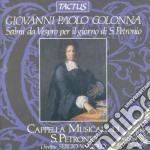 Salmi giorno s.petronio cd musicale di Colonna giovanni pao