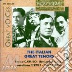 Italian great tenors(caruso,schipa etc) cd musicale di Artisti Vari