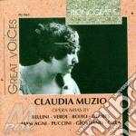 Claudia muzio: arie da opere (1935-1936) cd musicale di Muzio c. -vv.aa.