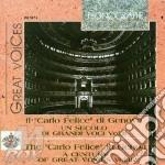 Un secolo di voci t. carlo felice vol.2 cd musicale di Artisti Vari