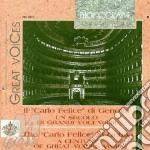 Un secolo di voci t. carlo felice vol.3 cd musicale di Artisti Vari