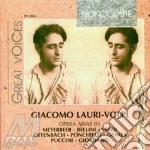 G. lauri-volpi: arie da opere (1928-1946 cd musicale di G.-vv.aa Lauri-volpi