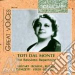 Toti dal monte: rep. belcanto(1926-1941) cd musicale di Dal monte t. - vv.aa