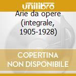Arie da opere (integrale, 1905-1928) cd musicale di Borgatti g. - vv.aa.