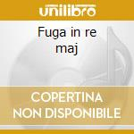 Fuga in re maj cd musicale di Beethoven