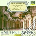 Son. per clav. op. i nn. 2/4 cd musicale di Platti