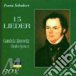 15 lieder cd musicale di Schubert