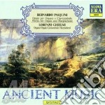 Opere per organo e clavicembalo cd musicale di B. Pasquini