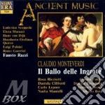 Ballo delle ingrate-ricciotti, razzi,'93 cd musicale di Monteverdi