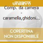 Comp. da camera - caramella,ghidoni etc cd musicale di Ponchielli