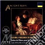 Suites per clavicembalo 1-8 - l. alvini cd musicale di Handel