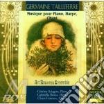 Mus.per pf ar e canto - art nouveau ens. cd musicale di G. Tailleferre