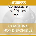 Comp.sacre v.2^(dies irae, lez.3^merc.) cd musicale di F.p. Ricci