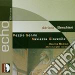 PAZZIA SENILE cd musicale di Adriano Banchieri