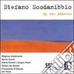 MY NEW ADDRESS (1986 88) PER VIOLINO cd musicale di SCODANIBBIO STEFANO