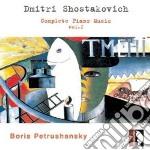 COMPLETE PIANO MUSIC VOL.1 cd musicale di SCIOSTAKOVIC
