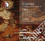 La parola al legno cd musicale di Scierrino