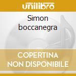 Simon boccanegra cd musicale di Giuseppe Verdi