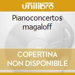 Pianoconcertos magaloff cd musicale di Sergei Prokofiev