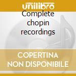 Complete chopin recordings cd musicale di Sergei Rachmaninoff