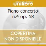 Piano concerto n.4 op. 58 cd musicale di Beethoven