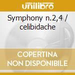 Symphony n.2,4 / celibidache cd musicale di Tchaikovsky / brahms