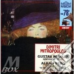 Symp.1/viol. conc.mitropoulos cd musicale di Mahler gustav / berg
