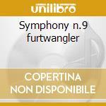 Symphony n.9 furtwangler cd musicale di Beethoven ludwig van
