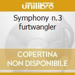 Symphony n.3 furtwangler cd musicale di Beethoven ludwig van