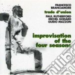 Francesco Branciamore - Improvisations 4 Seasons cd musicale di BRANCIAMORE FRANCESC