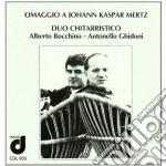 Mertz Johann Kaspar - Omaggio A Johann Kaspar Mertz cd musicale di MERTZ JOHANN KASPAR
