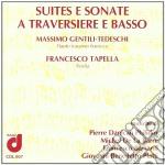 SUITES E SONATE A TRAVERSIERE E BASSO cd musicale di Miscellanee