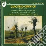 OPERE PER VIOLINO E PIANOFORTE (INTEGRAL cd musicale di Giacomo Orefice