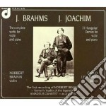 OPERE PER VIOLONO E PIANOFORTE (INTEGRAL cd musicale di Johannes Brahms