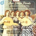 ARIE SENZA PAROLE cd musicale di Miscellanee