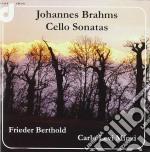 Brahms Johannes - Sonate Per Violoncello cd musicale di Johannas Brahms