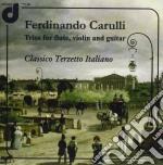 Ferdinando Carulli - Trii Per Flauto, Violino E Chitarra cd musicale di Ferdinando Carulli