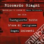 Riccardo Giagni - Musica Per Il Cinema Di Marco Bellocchio cd musicale di Riccardo Giagni